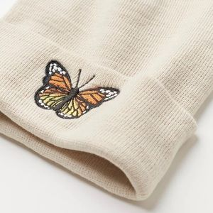 Urban Outfitters Iconic Butterfly Beanie
